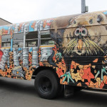 The M.U.S.C.R.A.T. bus at ArtBeat 2014.